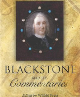 Blackstone and his Commentaries (Paperback)