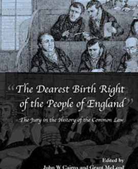 The Dearest Birth Right of the People of England
