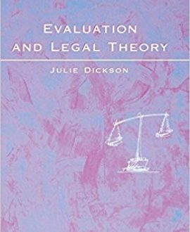 Evaluation and Legal Theory (Paperback)