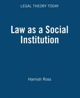 Law as a Social Institution (Paperback