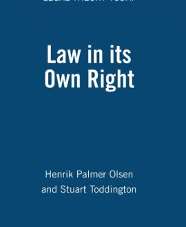 Law in its Own Right (Paperback)