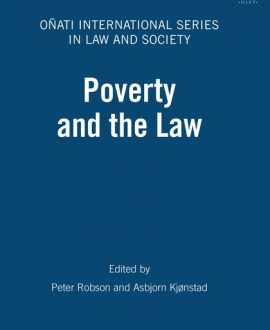 Poverty and the Law (Paperback)