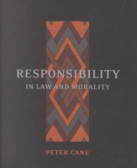 Responsibility in Law and Morality