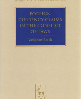 Foreign Currency Claims in the Conflict of Laws