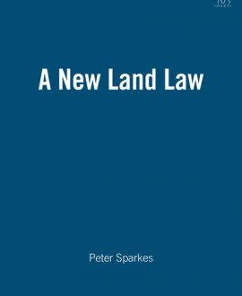 A New Land Law
