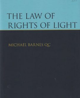 The Law of Rights of Light