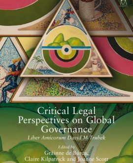 Critical Legal Perspectives on Global Governance (Paperback)