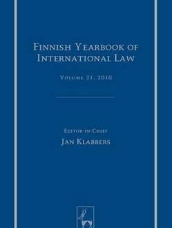 Finnish Yearbook of International Law, Vol 21, 2010