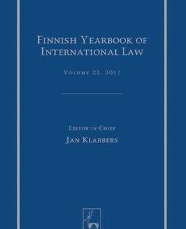 Finnish Yearbook of International Law, Vol 22, 2011