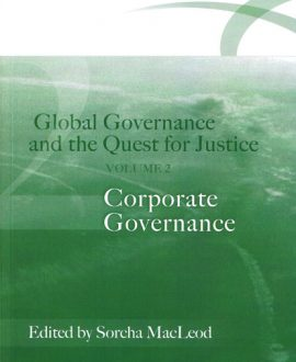 Global Governance and the Quest for Justice Vol II
