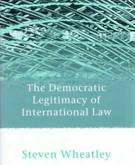 The Democratic Legitimacy of International Law