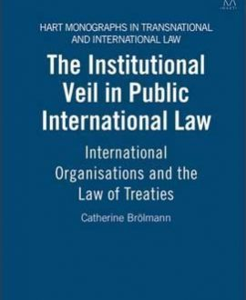 The Institutional Veil in Public International Law