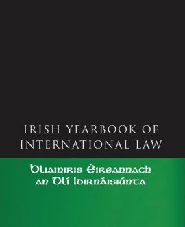 The Irish Yearbook of International Law Vol 1 2006