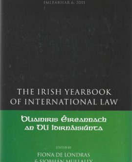 The Irish Yearbook of International Law Vol 6, 2011