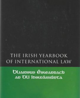 The Irish Yearbook of International Law Vol 7, 2012