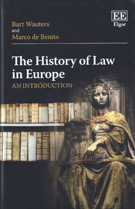 The History of Law in Europe (Paperback)