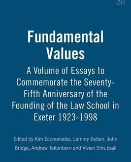Fundamental Values