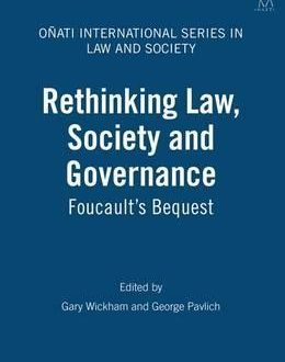 Rethinking Law, Society and Governance (Paperback)
