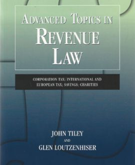 Advanced Topics in Revenue Law