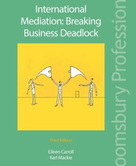 Internatinal Mediation: Breaking Business Deadlock