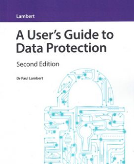 A User's Guide to Data Protection