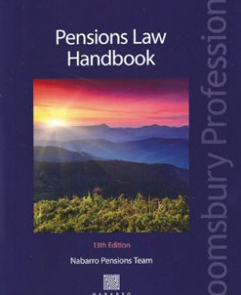 Pension Law Handbook