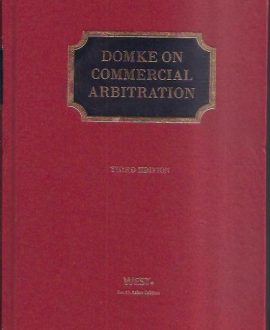 Commercial Arbitration in Three Volumes
