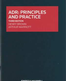 ADR: Principle and Practice