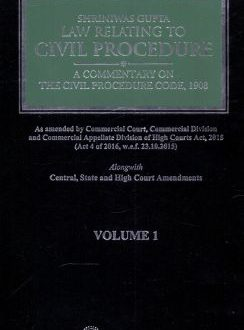 Law Relating to Civil Procedure