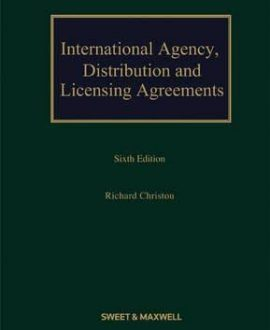 International Agency, Distribution and Licensing Agreements