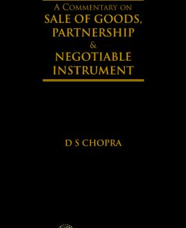 A Commentary on Sale of Goods, Partnership and Negotiable Instruments