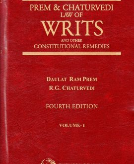 Law of Writs and other Constitutional Remedies