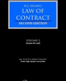 Law of Contracts in Two Volumes