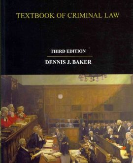 Glanville Williams Textbook of Criminal Law