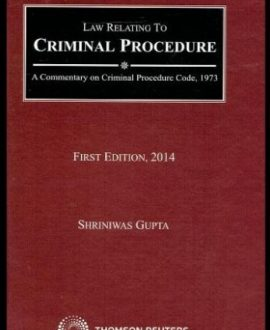 Law Relating to Criminal Procedure