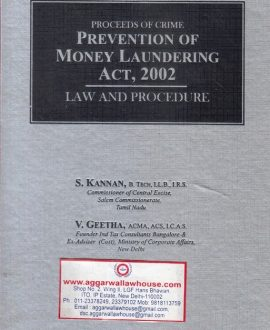 Prevention of Money Laundering Act 2002 - Law and Procedure