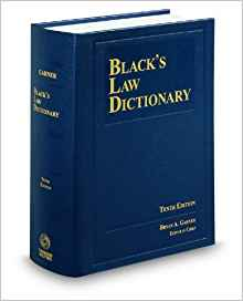 Black's Law Dictionary, Eighth Reprint Edition
