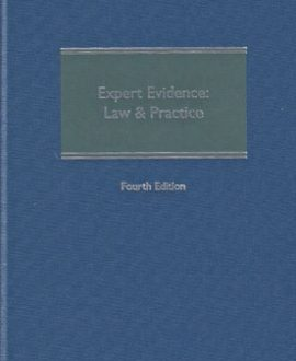Expert Evidence Law and Practice