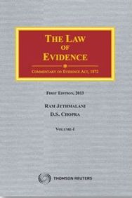 Jethmalani and Chopra Law of Evidence, in Two Volumes