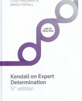 Kendall on Expert Determination
