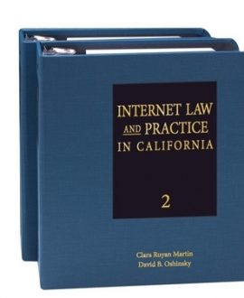 Internet Law and Practice in Two Volumes