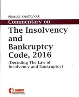 Commentary on the Insolvency and Bankruptcy Code, 2016