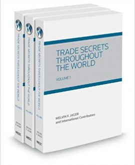 Trade Secrets Throughout the World (In Two Volumes)