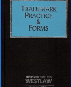 Trademark Practice and Forms (In two volumes)