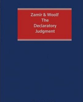 Zamir and Woolf: The Declaratory Judgment