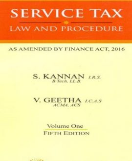 Service Tax - Two Volumes