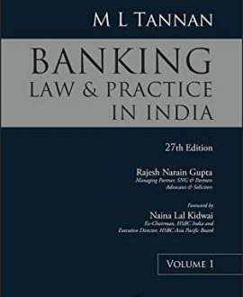 Banking Law and Practice in India (3 Vol.)