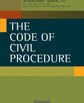 Code of Civil Procedure- with latest case law,