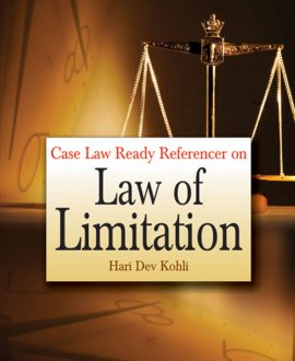 Case Law Ready Referencer on Law of Limitation