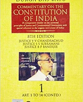 Commentary on the Constitution of India; Vol 2